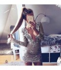 Silver sequinflow Dress