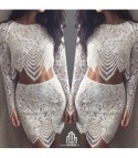 Completo White Lace