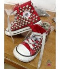 Converse All Star personalizzate - Modello Borchie 14