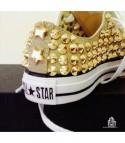 Converse All Star personalizzate - Modello Borchie 17