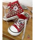 Converse All Star personalizzate - Modello Borchie 24