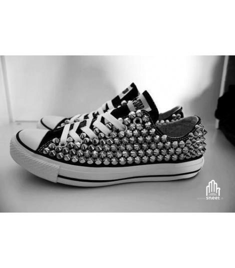 Converse All Star personalizzate - Modello Borchie 28