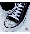Converse All Star personalizzate - Modello Brillantini 3