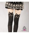 Collant cat black
