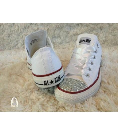 Converse All Star personalizzate - Modello Brillantini 7