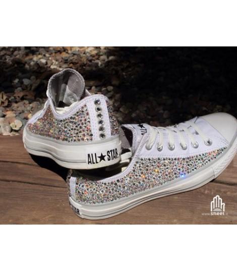 Converse All Star personalizzate - Modello Brillantini 8