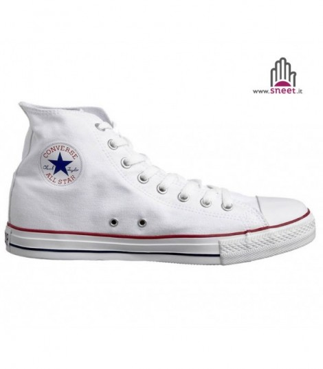 Converse All Star alta Bianco basic
