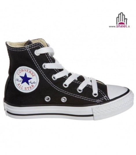 Converse All Star alta Nero basic