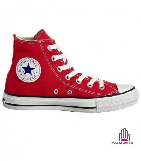 Converse All Star alta rossa basic