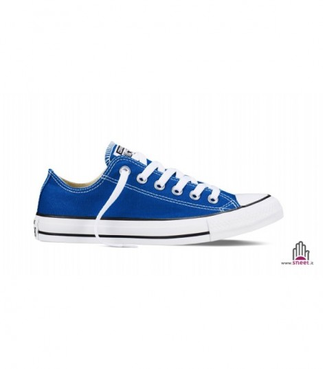 Converse All Star bassa blu basic