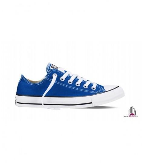 Converse All Star bassa blu basic