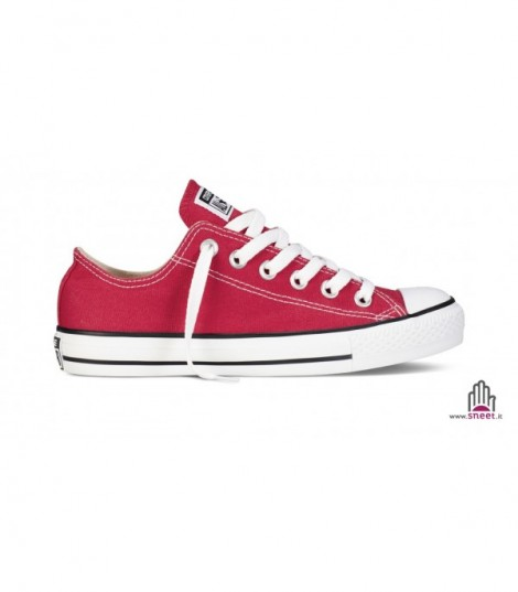 Converse All Star bassa rossa basic