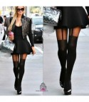 Collant giarrettiera Paris Hilton