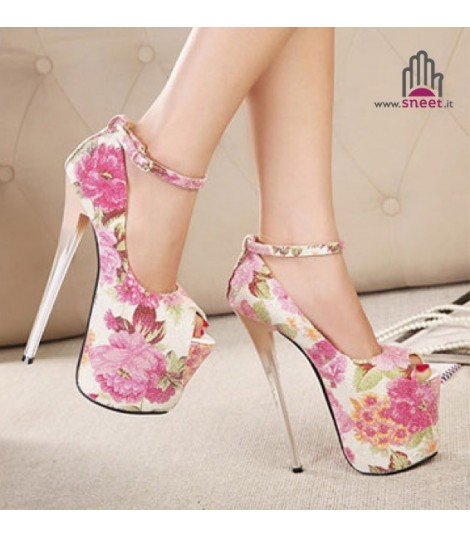 Peep Toe Floweres