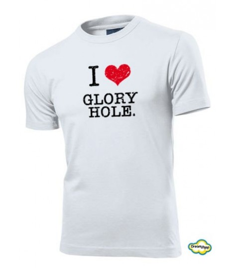 T-shirt I love Glory Hole