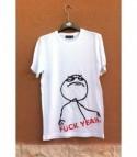 T-shirt Fuck yeah