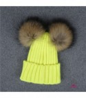 Cappellino double pon-pon bambini