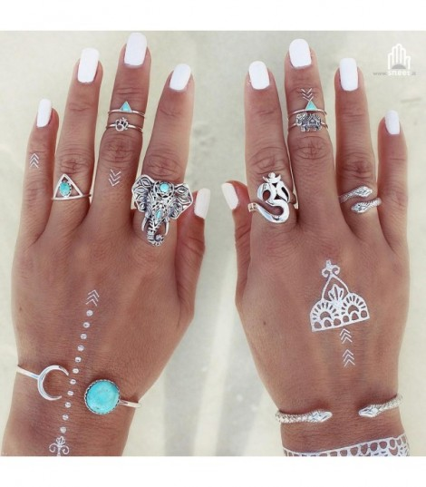 Set anelli Boho