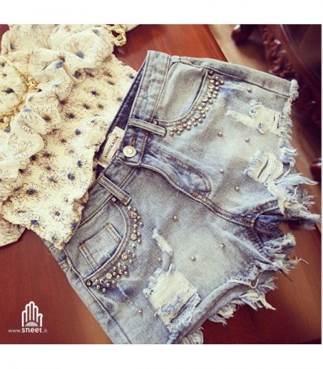 Worn out shorts