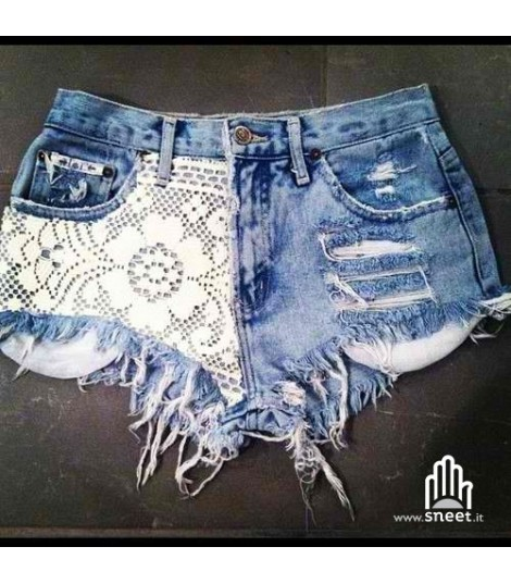 Shorts Levis Lace bow