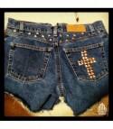 Shorts Levis studded cros