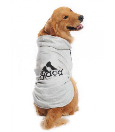 Felpa Adidog Grigio BIG