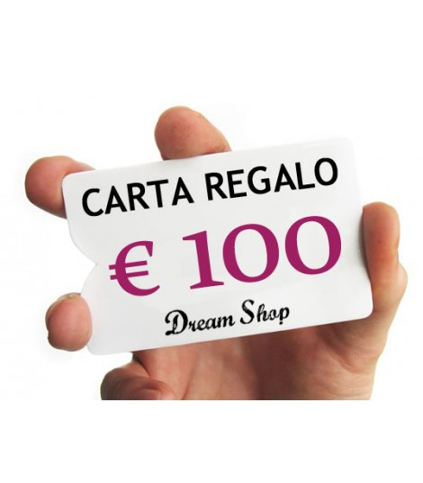 Carta Regalo Dream Shop 100 euro