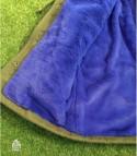 Parka corto interno blu