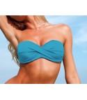 Top bikini a fascia + slip omaggio
