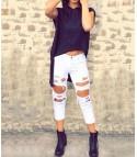 Jeans Lorenz Bianco