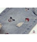 Mickey and minnie jeans
