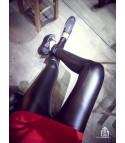 Leggings ecopelle
