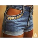 Shorts Levis skull pocket