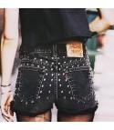 Shorts Levis Studs Black