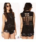 Cross Cut Out Top