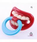 Ciuccio con dentoni F