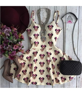 Minnie Skater Dress