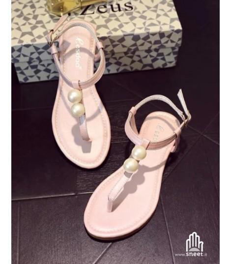Infradito doppia perla dream-shop rosa Estate