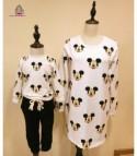 Maglietta bimbo e bimba topolino