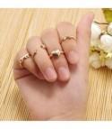 Key Heart Ring Set