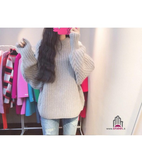 Maglione in lana Oversize Leroy