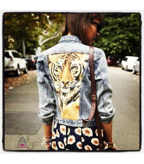 Giacca Jeans Tiger