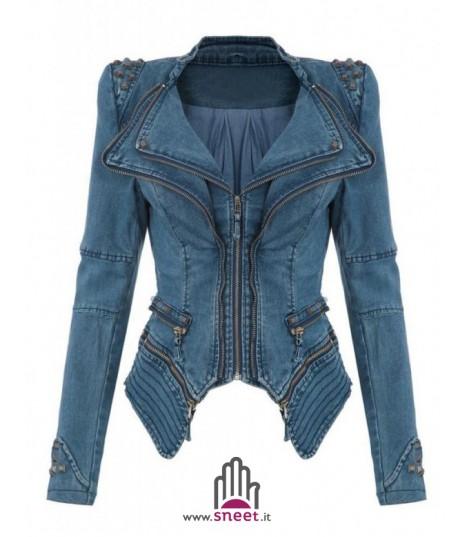 Giubbino in jeans Diana Blue