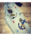 Levis 501 custom Anchor Pinup Old Style