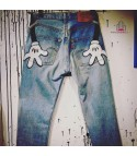 Levis 501 custom Mickey Maniak
