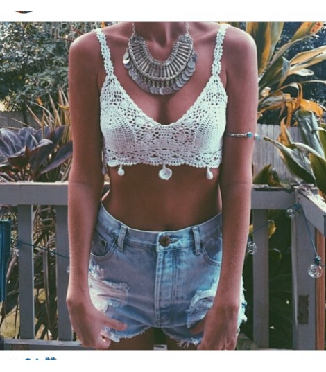 Hippies crop top