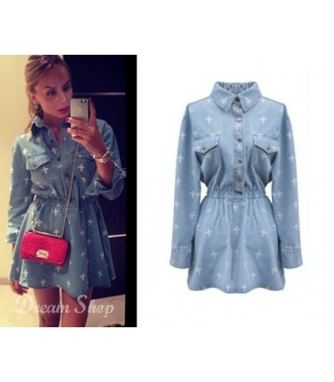 Denim Cross Dress