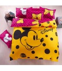 Completo letto Mickey Yellow pink