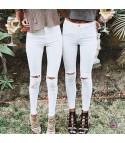 Jeans Skinny straps whipe
