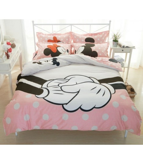 Completo letto Pinkie Minnie and Mickey